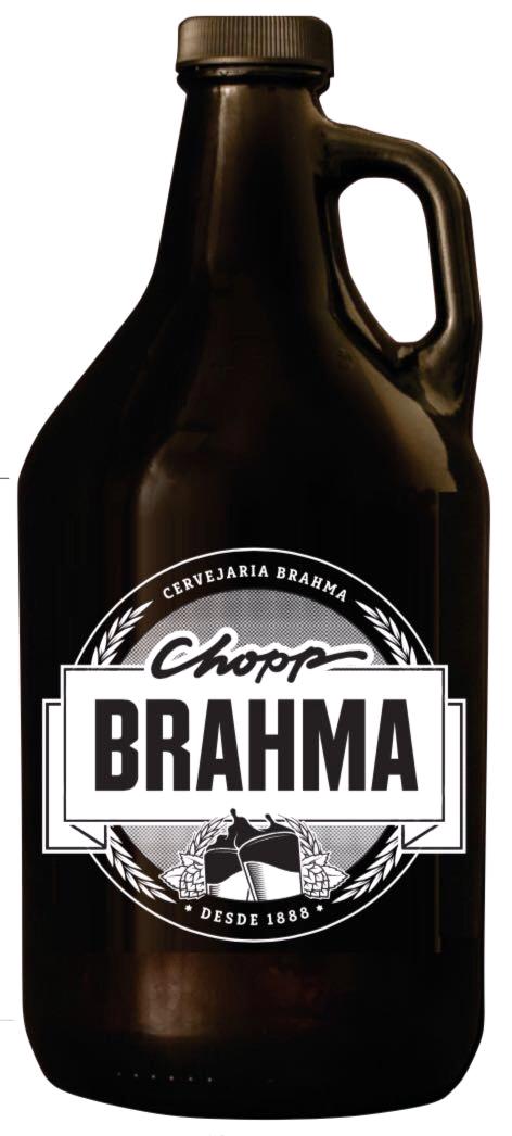 Growler-Cheio-|-Chopp-Brahma-19L