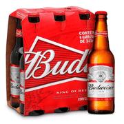 Pack de Cerveja Budweiser 343ml (6 un.)