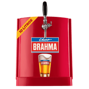 Chopp Brahma Claro 10L