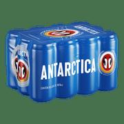 Cerveja Antarctica Pilsen Lata 473ml - 12 Unidades