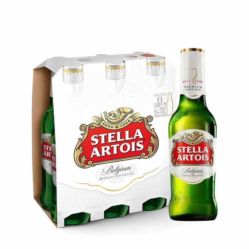 Stella-Artois-275ml-Pack-com-6-unidades