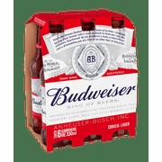 Budweiser Long Neck Pack (6 unidades)