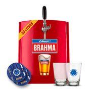 Kit Cruzeiro: Chopp Brahma 30L + 6 calderetas + 6 bolachas