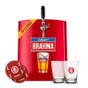 Kit Internacional: Chopp Brahma 30L + 6 calderetas + 6 bolachas